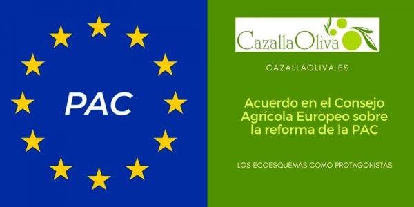 Acuerdo en el Consejo Agrícola Europeo sobre la reforma de la PAC