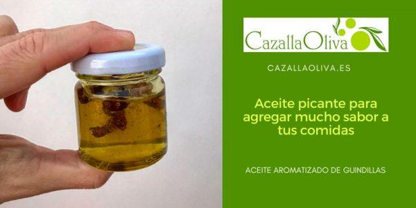 Aceite picante de guindillas para añadir mucho sabor a tus comidas