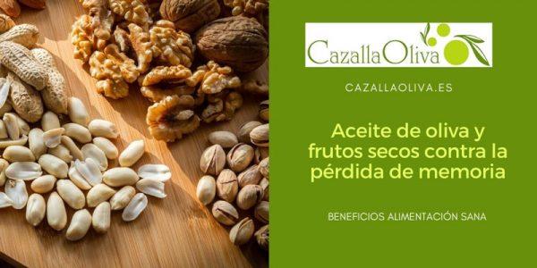 Aceite de oliva y frutos secos contra la pérdida de memoria