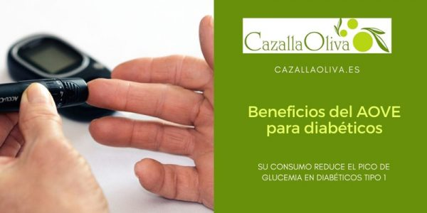 Beneficios del Aceite de Oliva Virgen en pacientes con diabetes tipo 1