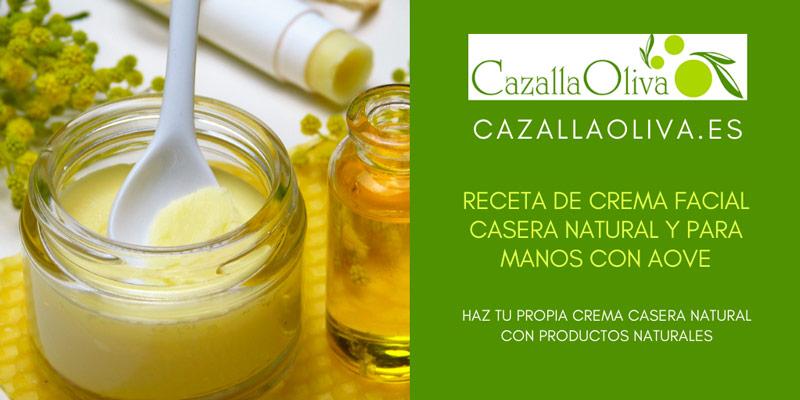 como hacer crema natural casera con aceite de oliva