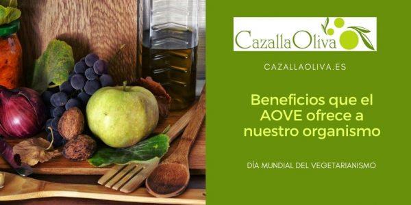 Beneficios que el Aceite de Oliva Virgen nos ofrece a nuestro organismo