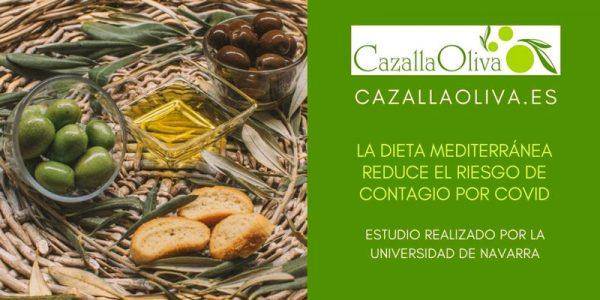 La Dieta Mediterránea reduce el riesgo de contagio de COVID-19 hasta el 64%