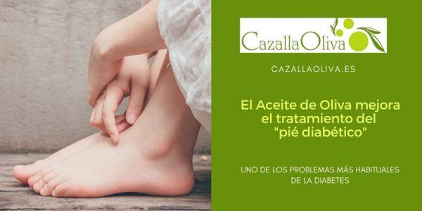 """El aceite de oliva mejora el tratamiento del """"pie diabético"""""""